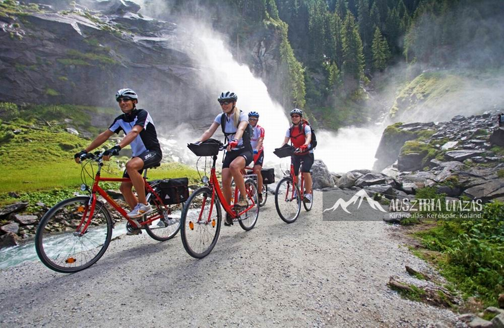 Salzburg tartomány csodái kerékpárral