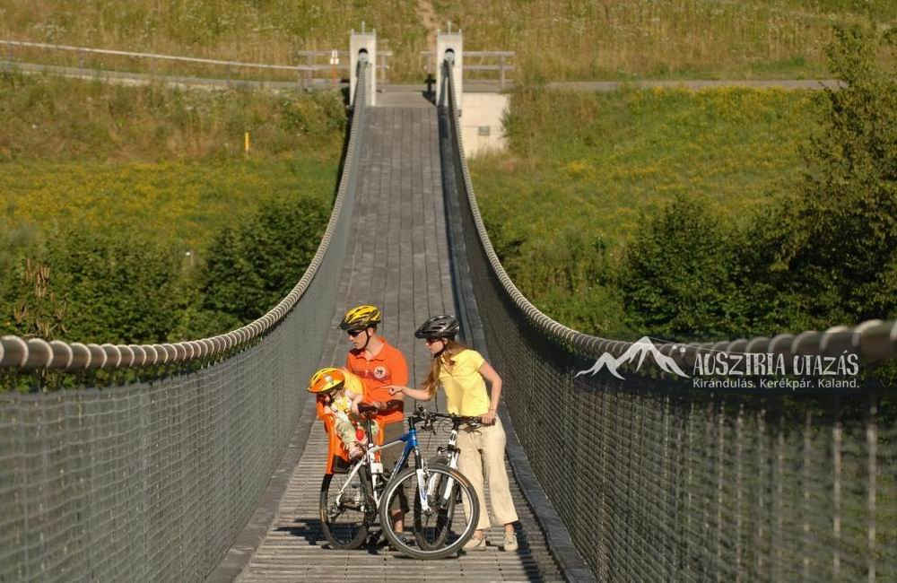 Dráva kerékpárút-st-lucia híd