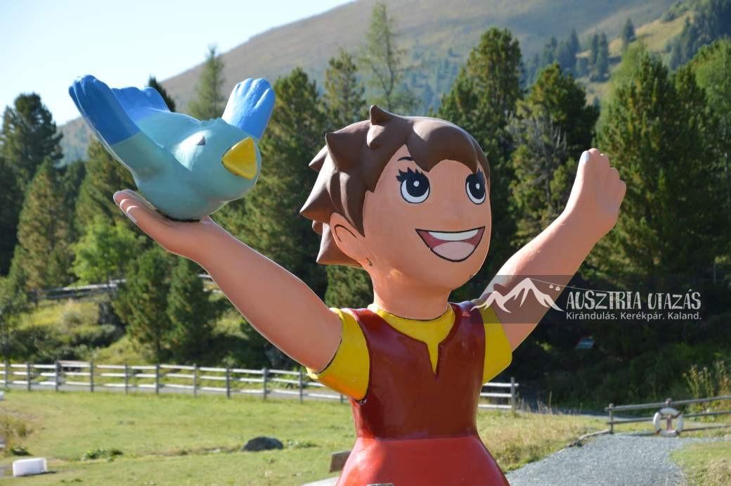 Mesés hegyvidéki tájakon Karintiában