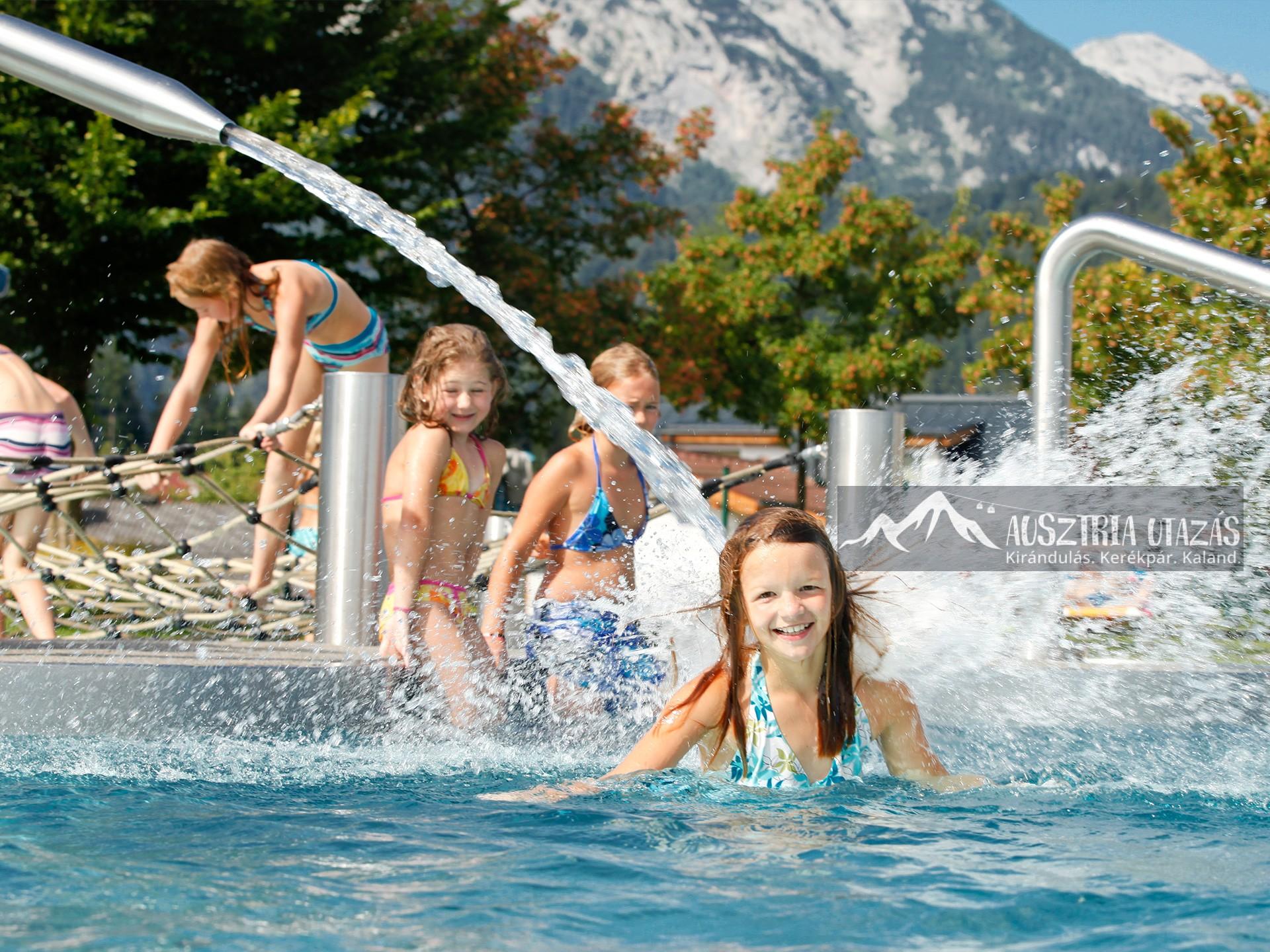 Családi élményfürdőzés Gasteinben