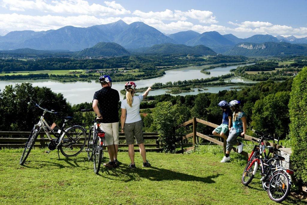Sportos túra a Dráva-menti kerékpárúton