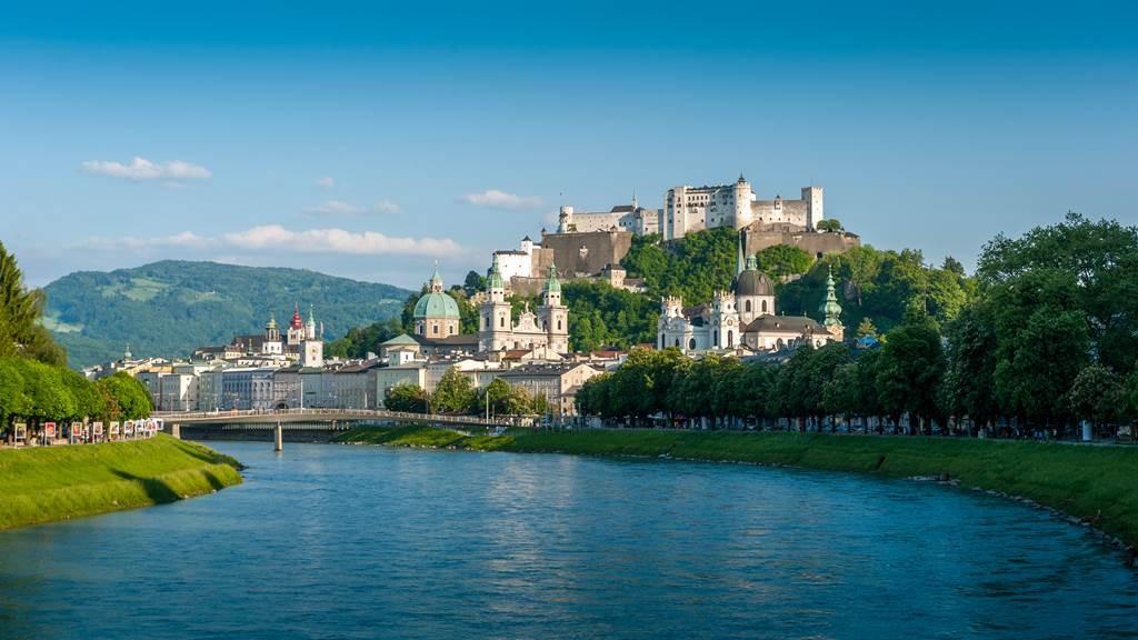 Salzburg és a Salzkammerguti tóvidék