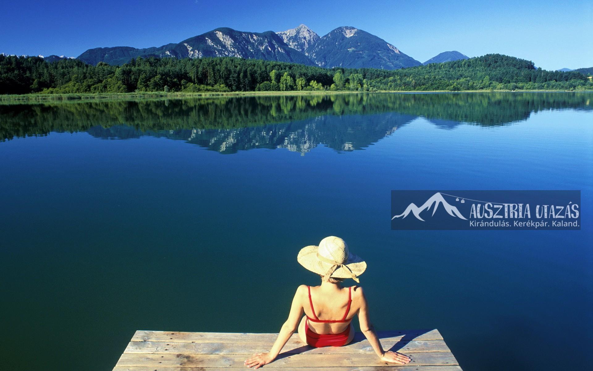 Medencés nyaralás Dél-Karintia tóvidékén