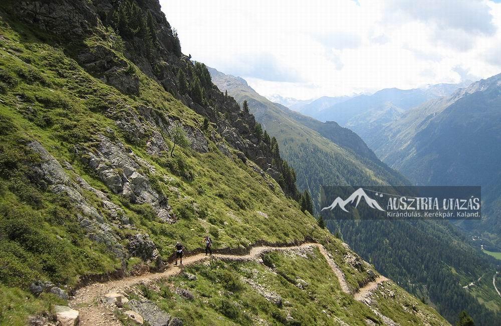 Angererweg Nyugat-Tirol