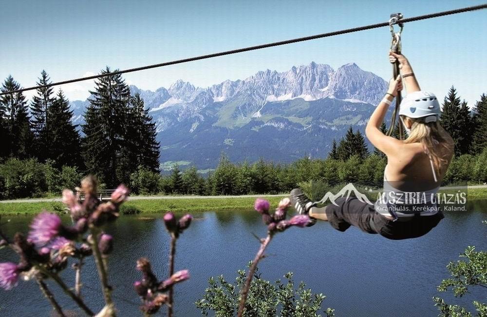 Bergsee-flyingfox Tirol