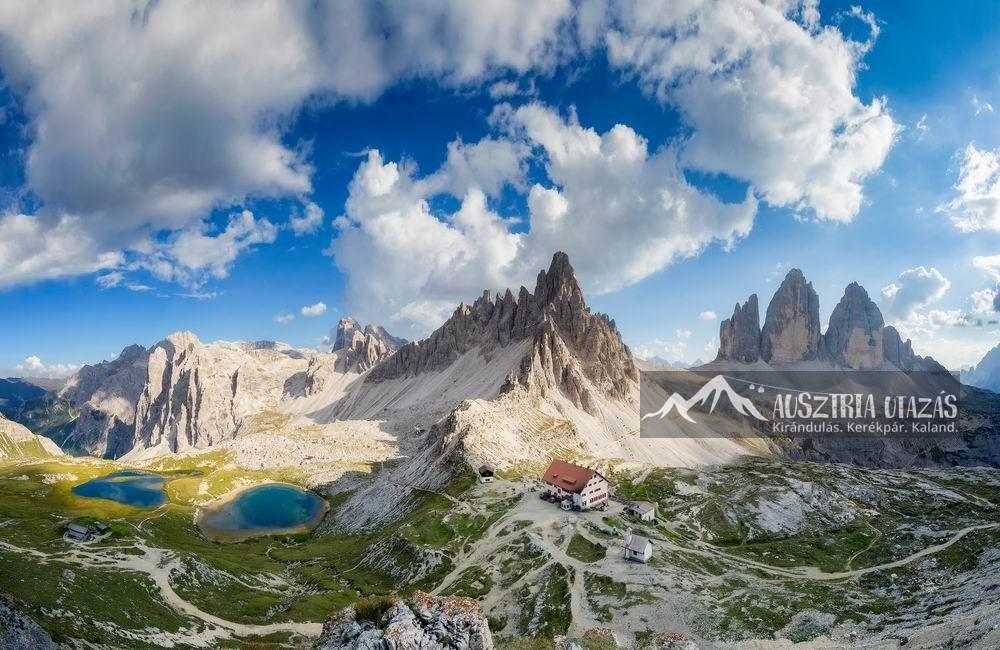 Dolomitok-Drei-Zinnen-Hochpustertal