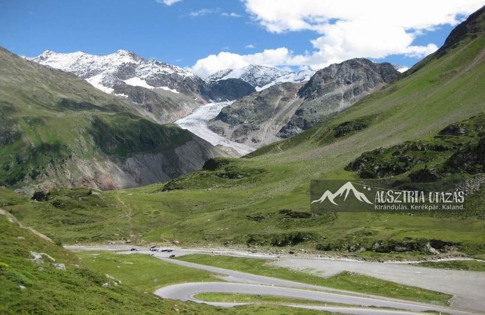 Kaunertal-gleccser Nyugat-Tirol