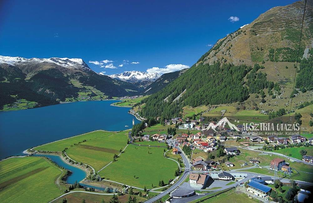 Reschensee Nyugat-Tirol