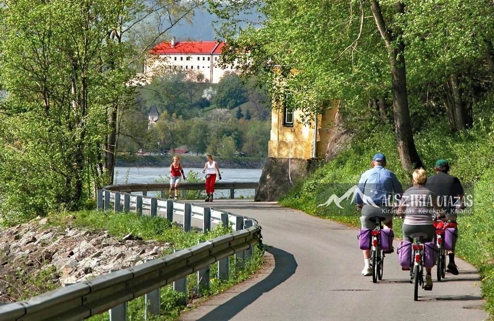 Családi biciklitúra a Duna mentén – Passau-Linz